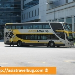 Singapore to Kuala Lumpur by Bus from Harbour Front Centre