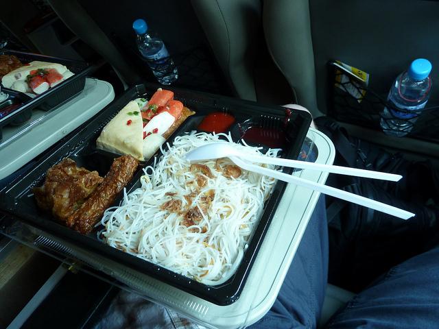 Aeroline Bus Food