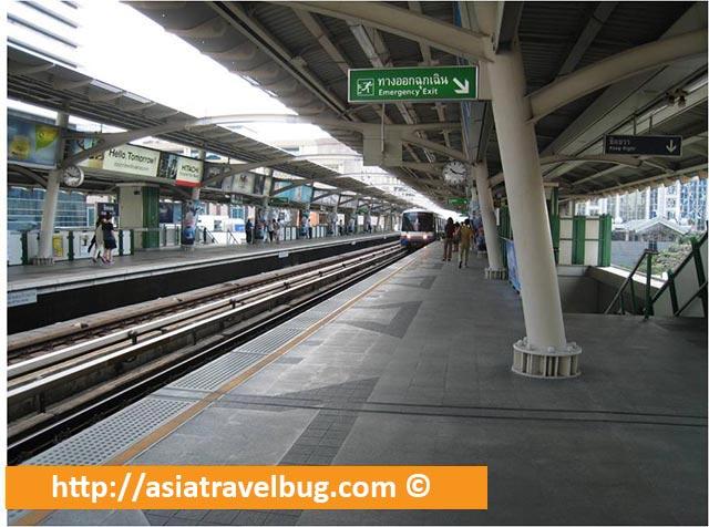 BTS Sky Train Platform