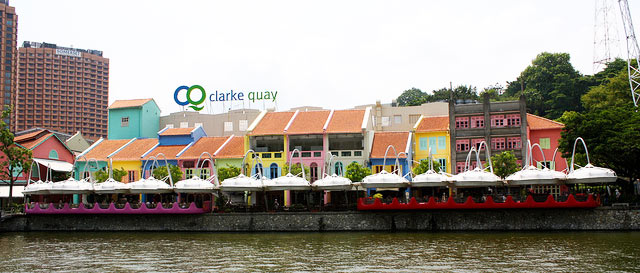 Clark Quay Singapore Singapore River Cruise