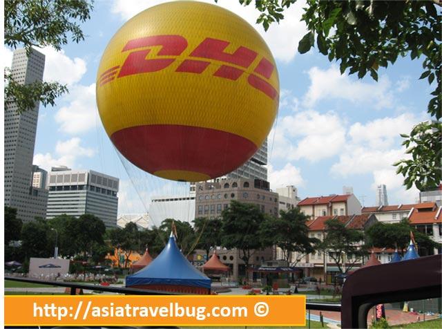 DHL Hot Air Balloon Ride in Singapore