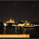 Grand Palace at Night from Yok Yor Dinner Cruise
