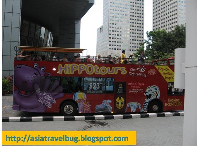 Hippo Bus Hop on Hop off Singapore Tour