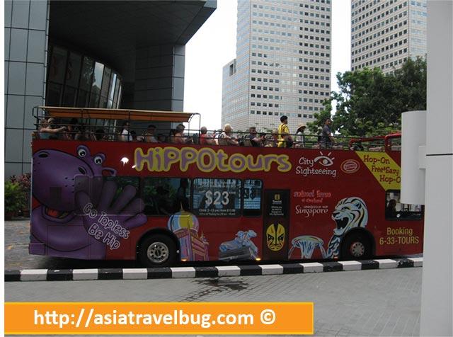 Hippo Bus Tour   Hop on Hop Off Bus in Signapore