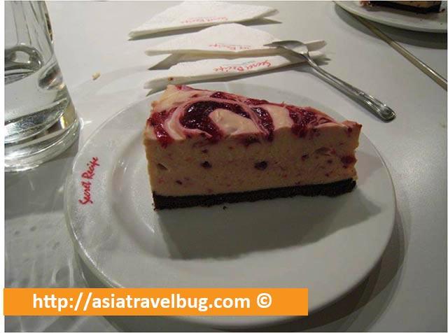 Secret Recipe Raspberry Cheesecake