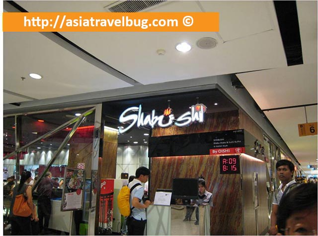 Shabu Shi Restaurant in Central World Mall