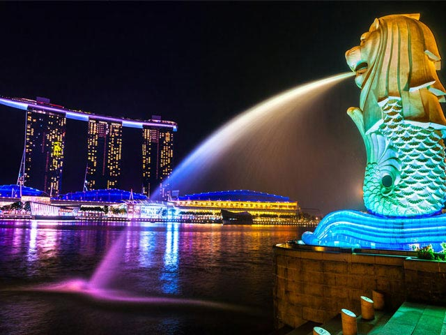Singapore Travel - The Merlion