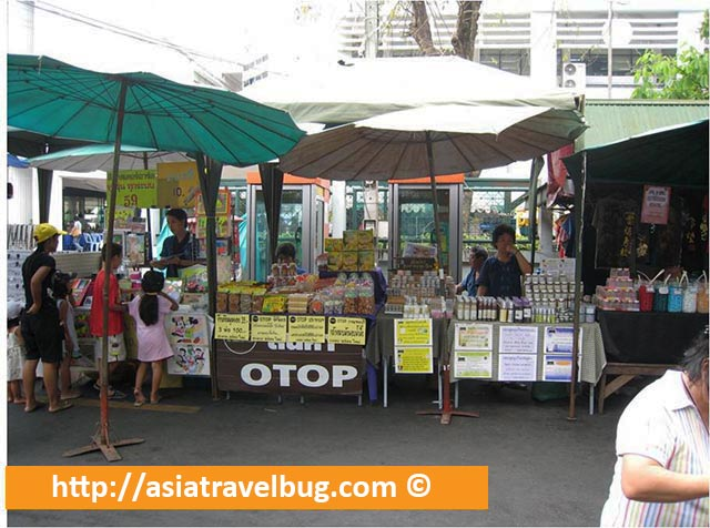Stalls Selling Random Stuffs at Taling Chan Floating Market