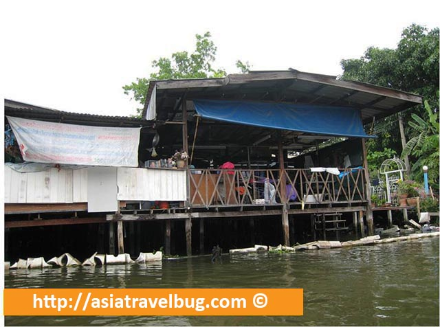 Rustic House along Thonburi Canals