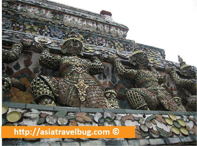 Wat Arun Intricately Designed Facade