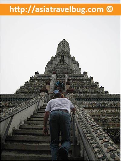 Wat Arun Steep Stairs
