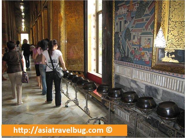 Wat Pho Coin Ceremonies