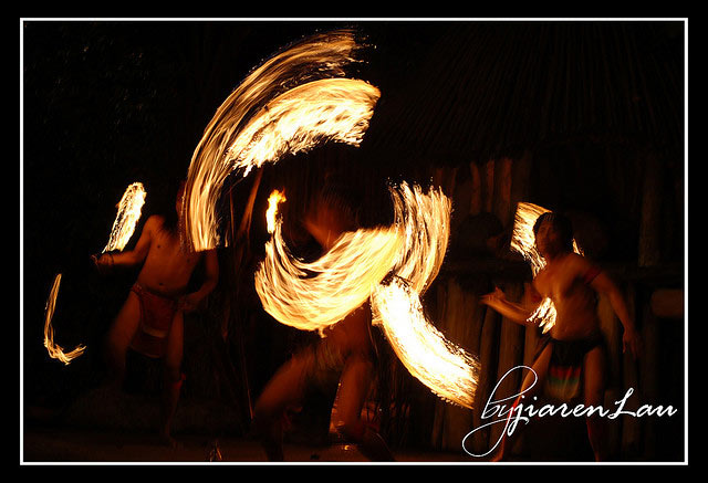 Night Safari Fire Dancers