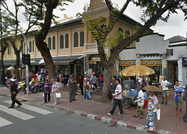 Au Bon Pain Opposite the Main Entrance of Grand Palace
