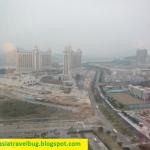 Senado Square and Saint Paul Ruins from Venetian Macau