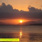 A Breathtaking Sunset at Dos Palmas Palawan