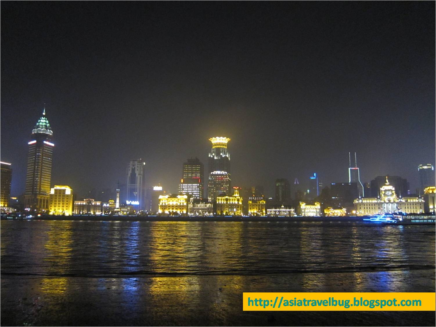 Bund view at night