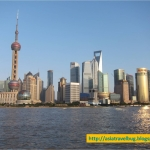 The Bund Shanghai in One Bright and Sunny Afternoon