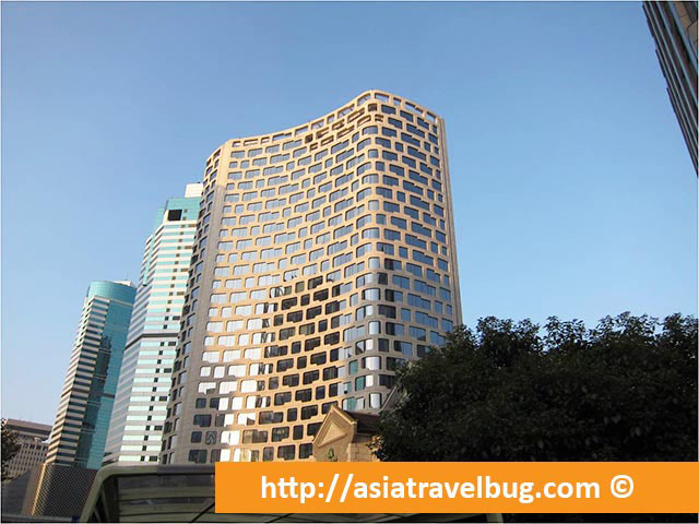A Modern Shanghai Building