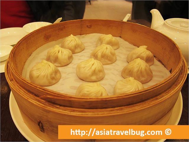 Yummy Xiao Long Pao of Din Tai Fung Shanghai