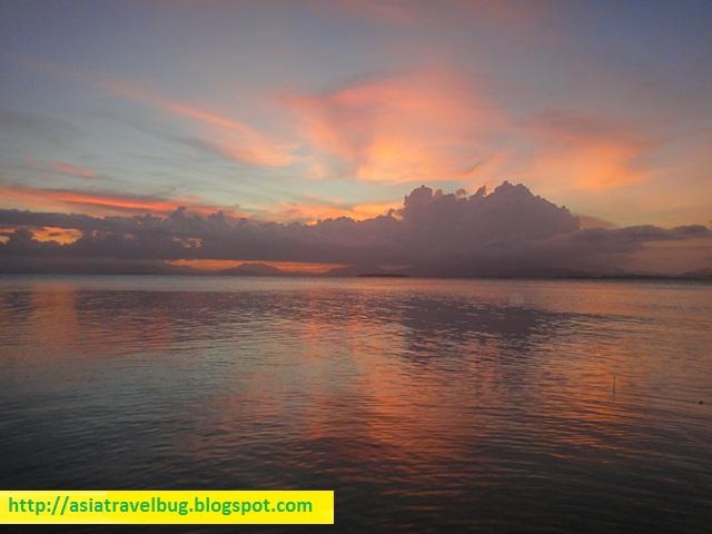 Sunset view at Dos Palmas