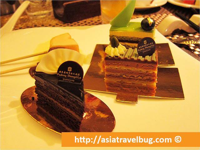 Cake Desserts at Yi Cafe