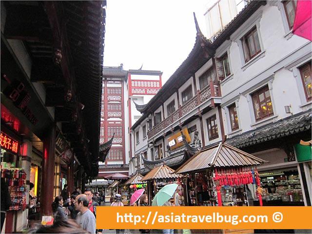 Bazaars at Yu Garden Shanghai