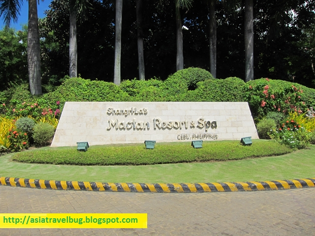 Arriving at Shangri-la Mactan Resort & Spa