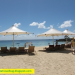 Shangri-la Mactan Resort beach area