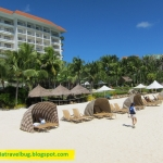World class beach at Shangri-la Mactan