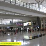 Airport arrival at Hong Kong