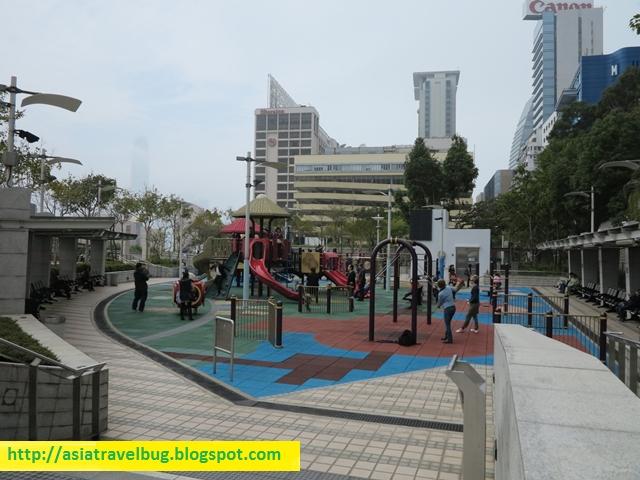 Nearby garden beside Kowloon Shangri-la
