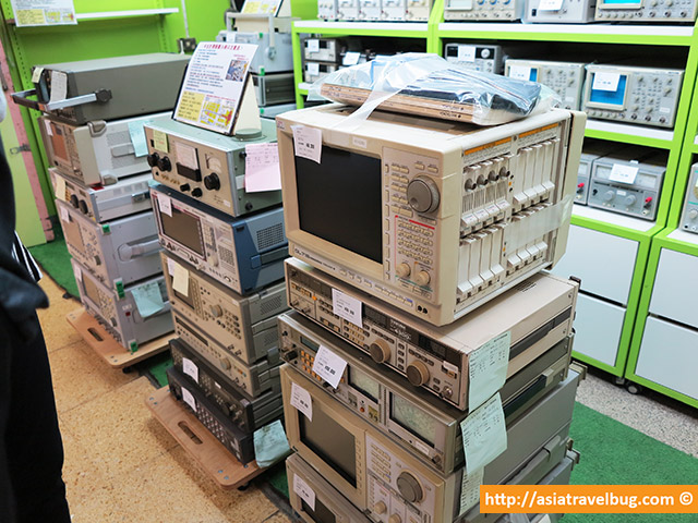 Retro Machines Sold in Akihabara