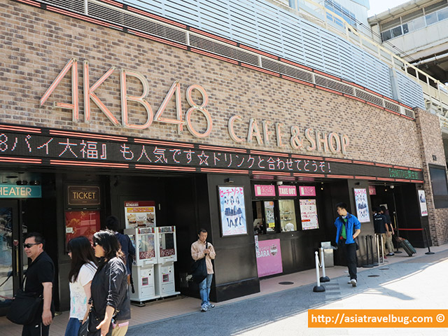 AKB 48 Cafe and Shop near Akihabara Station
