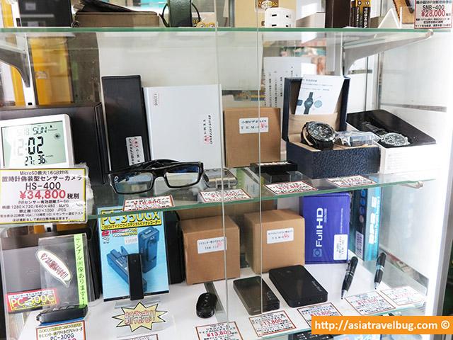 Detective Gadgets in Akihabara