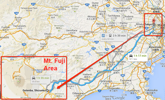 Mount Fuji The Geeky Guide To See Mount Fuji In Its Full Glory - Japan map fuji