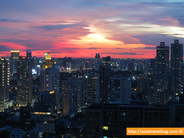 Bangkok Travel - Incredible Bangkok Sunset