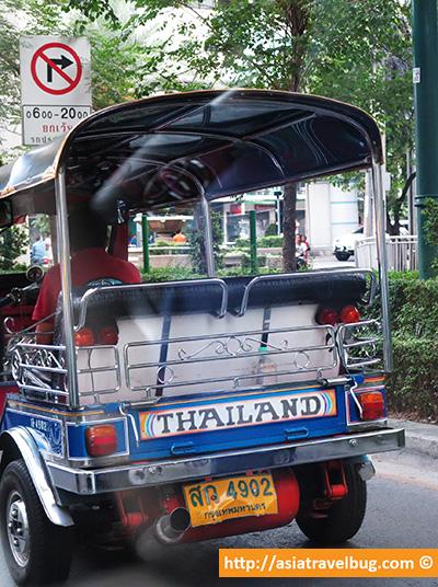 Tuk tuk - Bangkok travel
