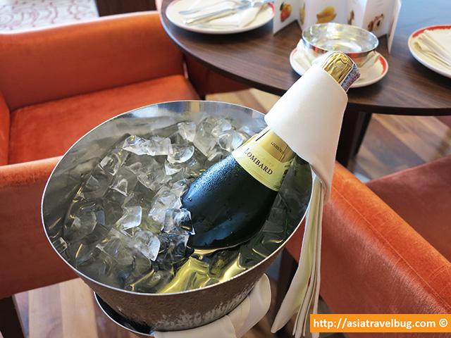 Champagne Courtesy of Centara Grand at Central World
