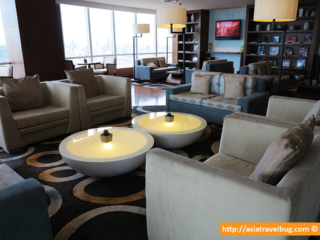 Cozy and Spacious Club Lounge of Centara Grand at Central World Hotel