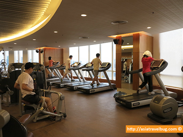 Gym of Centara Grand at Central World