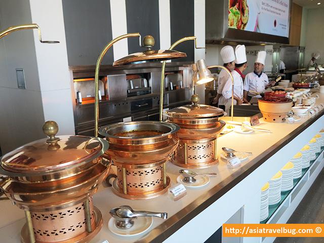 Indian Cuisine Breakfast Selection