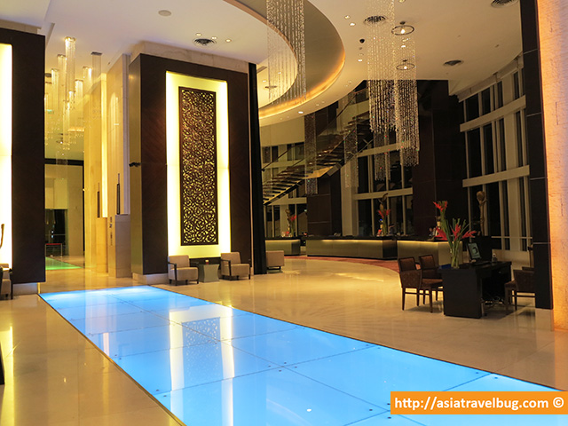 The Very Stylish Lobby of Centara Grand at Central World Hotel
