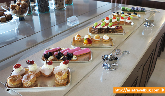 Delicious Pastries in the Lounge | Centara Grand at Central World Hotel