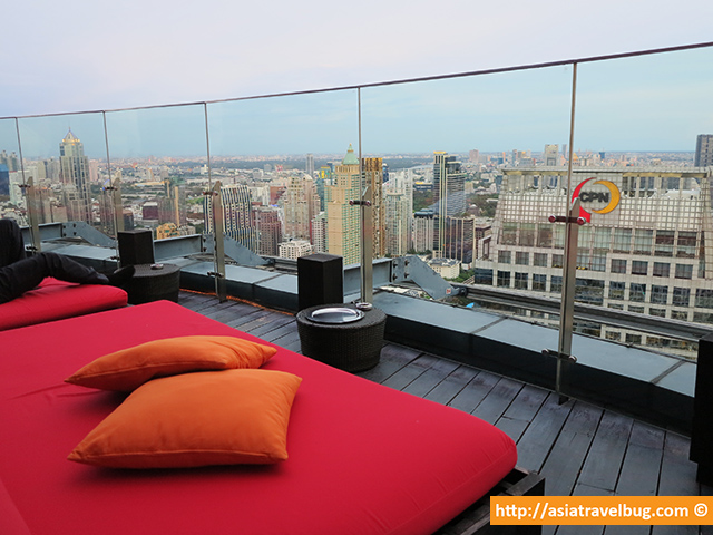 Comfy Beds in Red Sky, Centara Grand at Central World.