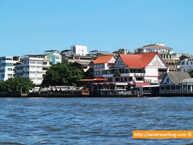 Sights from Chao Pharaya River Boat