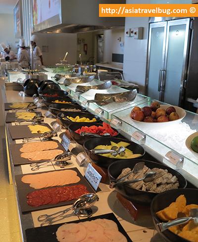 Lavish Fruit and Salami Selection
