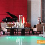 Centara Grand at Central World | The Piano Makes a Great Centerpiece in the Lobby Lounge