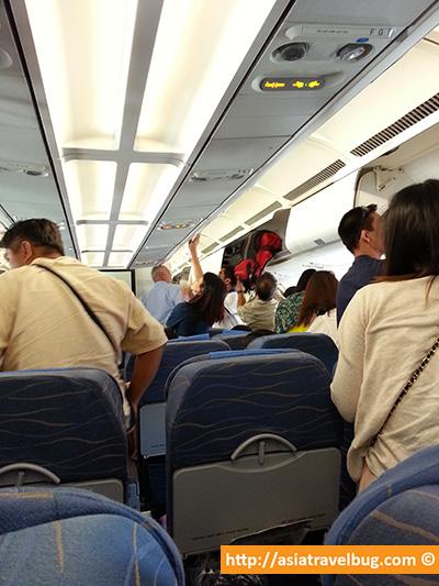 Jam Packed Flight to Bangkok   Bangkok Travel