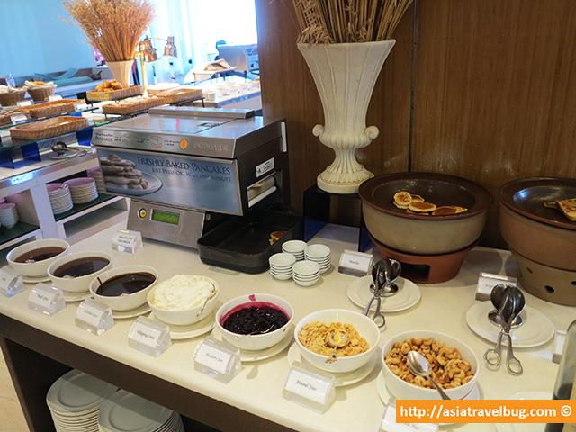 Pancake Area with an Automated Pancake Maker Machine